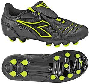 b64f61a2f Diadora Maracana MD PU JR Soccer Cleats - Blk Yell - Soccer Equipment and  Gear