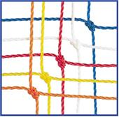 Champion Off. 2.5mm Soccer Nets 24' x 8' x 4'x 10'