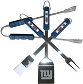 NFL New York Giants 4 Piece BBQ Grilling Set