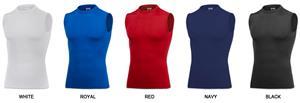 Baw Men's Sleeveless Compression Cool-Tek Shirts