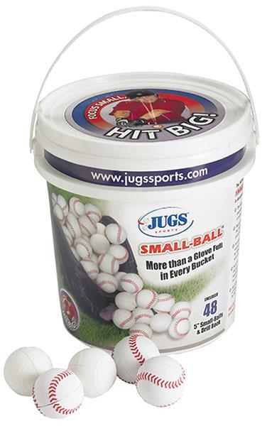 Jugs Bucket of SMALL-Baseballs