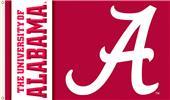 """COLLEGIATE Alabama Script """"A"""" 3' x 5' Flag"""