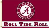 COLLEGIATE Alabama Roll Tide Roll 3' x 5' Flag