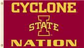 COLLEGIATE Iowa State Cyclone Nation 3' x 5' Flag