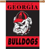 "COLLEGIATE Georgia 2-Sided 28"" x 40"" Banner"