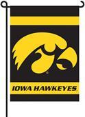 "COLLEGIATE Iowa 2-Sided 13"" x 18"" Garden Flag"