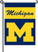 "COLLEGIATE Michigan 2-Sided 13"" x 18"" Garden Flag"