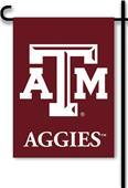 "COLLEGIATE Texas A&M 2-Sided 13"" x 18"" Garden Flag"