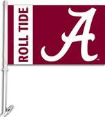 "COLLEGIATE Alabama ""A"" 2-Sided 11"" x 18"" Car Flag"
