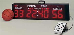 Bison TimeKeeper Portable Scoreboard