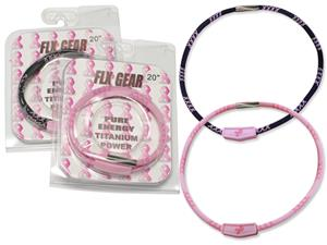 FLX GEAR Body Armor Style Titanium Sport Necklaces