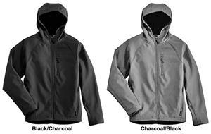 Landway Men s Hooded Matrix Soft-Shell Jackets - Soccer Equipment ... 5b0841095d