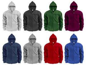 Soffe Adult Training Full Zip Hooded Sweatshirts. Decorated in seven days or less.