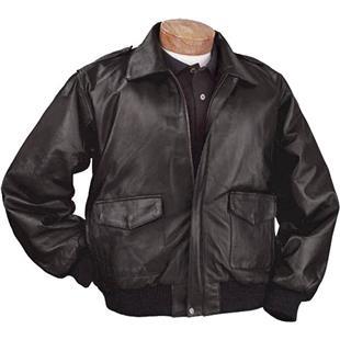 Burk's Bay Napa Leather Bomber Jacket