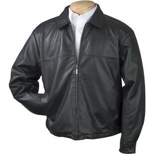 Burk's Bay Men's Premium Lamb Leather Jacket
