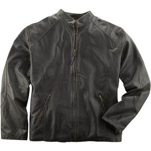 Burk's Bay Men's Retro Leather Jacket