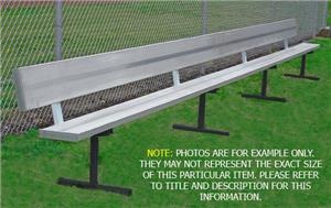 Portable Aluminum Benches With Back