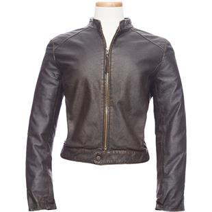 Burk's Bay Ladies Retro Leather Jacket