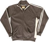 J America Adult Vintage Poly Fleece Track Jackets