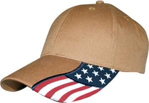 ROCKPOINT Freedom Cap (Structured). Embroidery is available on this item.