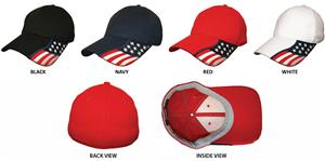 ROCKPOINT Freedom Stretch Fit Cap. Embroidery is available on this item.
