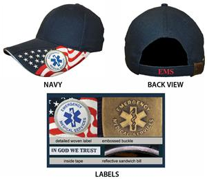 ROCKPOINT First Responder EMS Cap. Embroidery is available on this item.