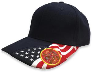 ROCKPOINT The Brave Fire Department Cap. Embroidery is available on this item.