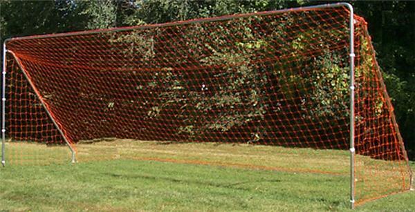 pair 8x24 6mm Braided Soccer Nets