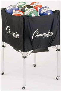 Champion Deluxe Model Volleyball Carts Vc100 Volleyball