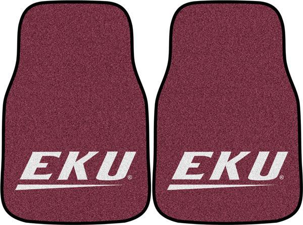 FANMATS NCAA Eastern Kentucky University Colonels  Nylon Face Carpet Car Mat