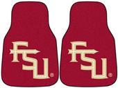 Fan Mats Florida State FSU Logo Car Mats (set)