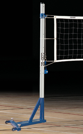 Porter Economy Steel Portable Volleyball Standards Epic Sports