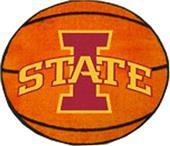 Fan Mats Iowa State University Basketball Mat