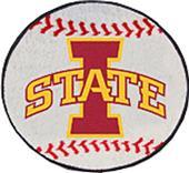 Fan Mats Iowa State University Baseball Mat