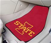 Fan Mats Iowa State Univ Carpet Car Mats (set)