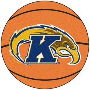 Fan Mats Kent State University Basketball Mat