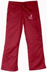University of Alabama Crimson Cargo Scrub Pants
