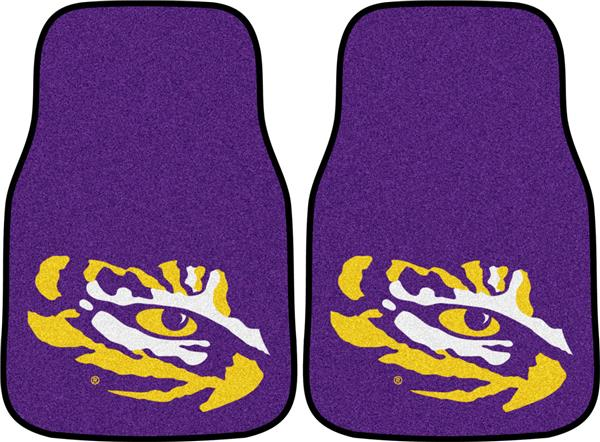 FANMATS NCAA Louisiana State University Tigers Nylon Face Starter Rug