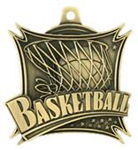 "Hasty Awards 2.5"" Xtreme Basketball Medal M-701B"