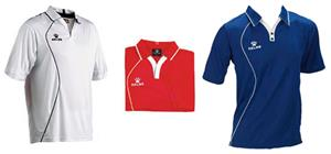 Kelme garra polo coaches custom soccer shirts closeout for Soccer coach polo shirt