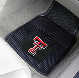 Fan Mats Texas Tech Univ Vinyl Car Mats Set Epic Sports