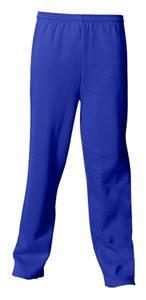 A4 Adult 9.5 OZ. Fleece Open Bottom Pants CO
