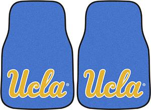 Fan Mats UCLA Carpet Car Mats (set)