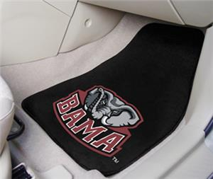 Fan Mats Univ of Alabama Carpet Car Mats (set)