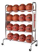 Wilson Deluxe Basketball Ball Racks  WTB1801