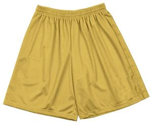 "A4 9"" Adult Utility Mesh Shorts"
