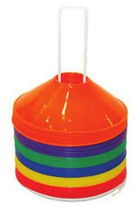 """Champion Sports 9"""" Saucer Field Cones (Set of 48)"""