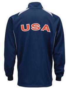 Mizuno Usa Mens Volleyball Warm Up Jacket 440295