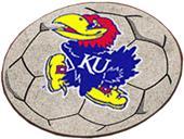 Fan Mats University of Kansas Soccer Ball