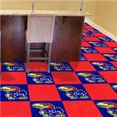 Fan Mats University of Kansas Team Carpet Tiles